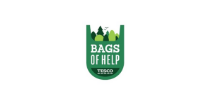 Your Space is Supported by Tesco's Bags of Help